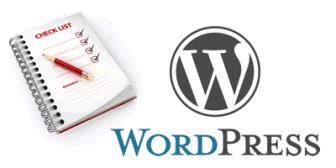 dopo l'installazione di Wordpress