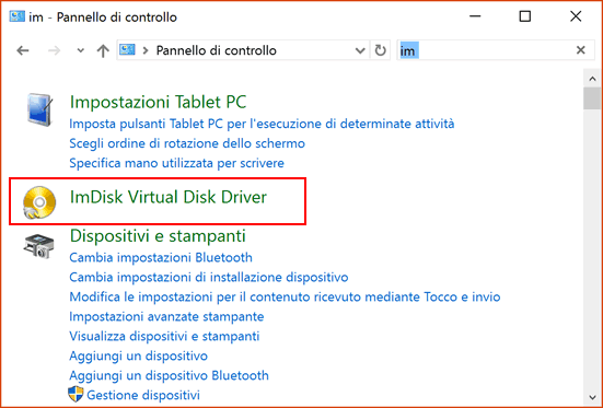 Ram Disk per Windows