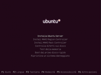 Installare Ubuntu 16.04 server (LTS, Point Release e HWE stack)