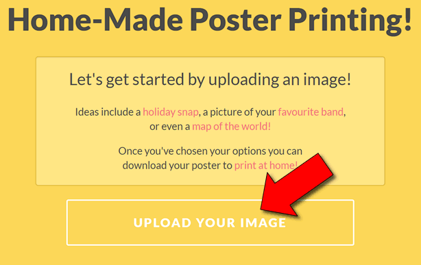 Come stampare immagini in fogli A4 o A3