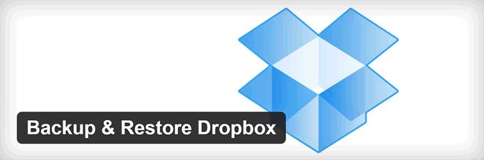 Backup WordPress dropbox