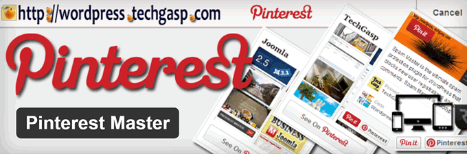 plugin Pinterest per WordPress