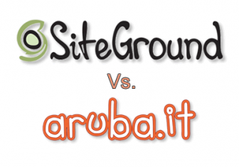 Aruba Vs SiteGround – Hosting a confronto