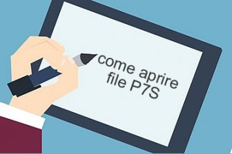 Come aprire file P7S