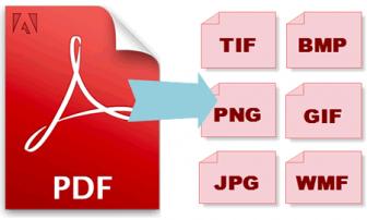 trasformare PDF in immagini