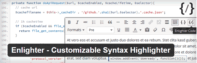 migliori Syntax Highlighter WordPress