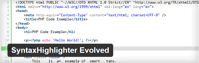 migliori plugin Syntax Highlighting in WordPress