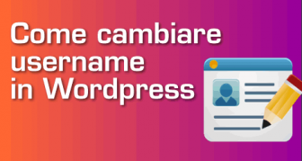 3 modi per cambiare Username in Wordpress