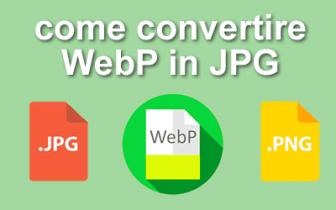 Come salvare Webp in JPEG