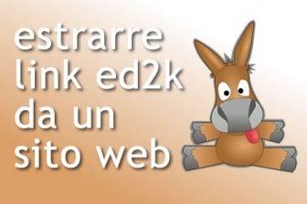 estrarre ed2k da un sito