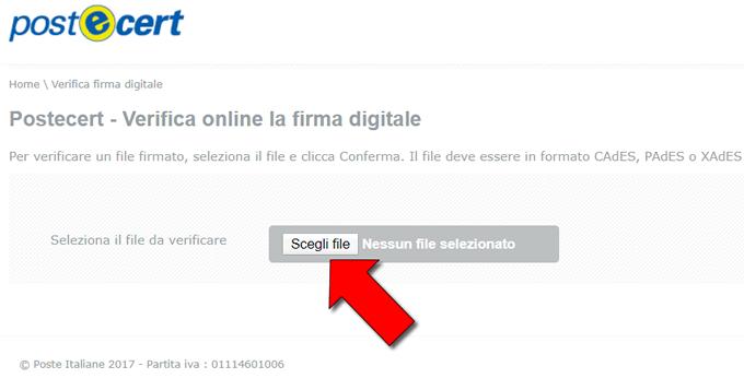 aprire file p7m online