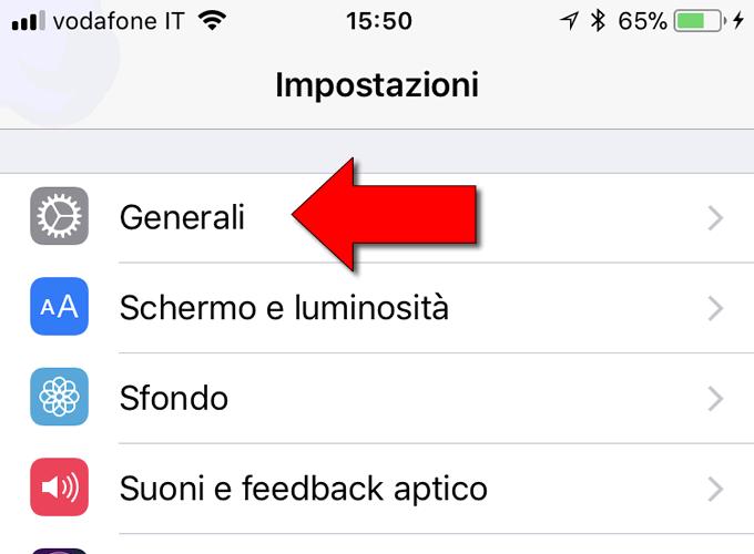 togliere emoji da iphone