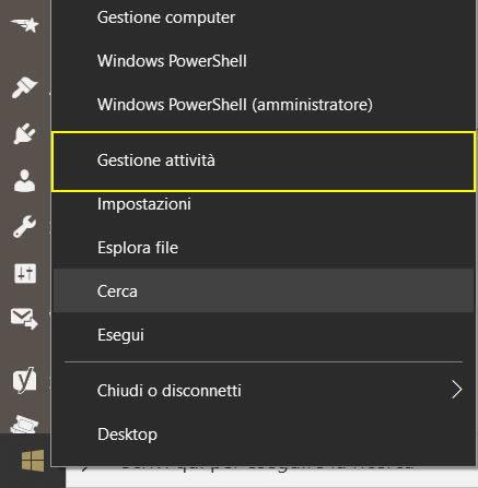 stato della CPU nella barra delle icone