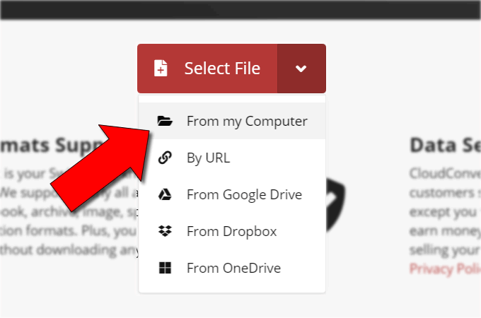 aprire file con estensione .pages